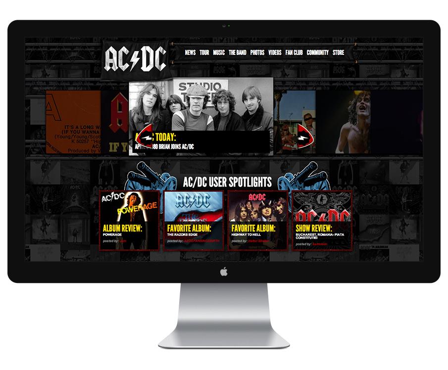 ACDC.com Drupal Website