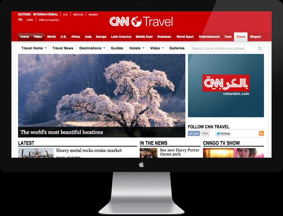 Front End Developer for CNN Travel