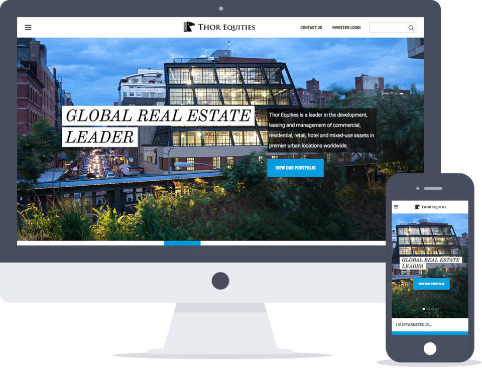Drupal Website Support for Global Real Estate Firm, Thor Equities