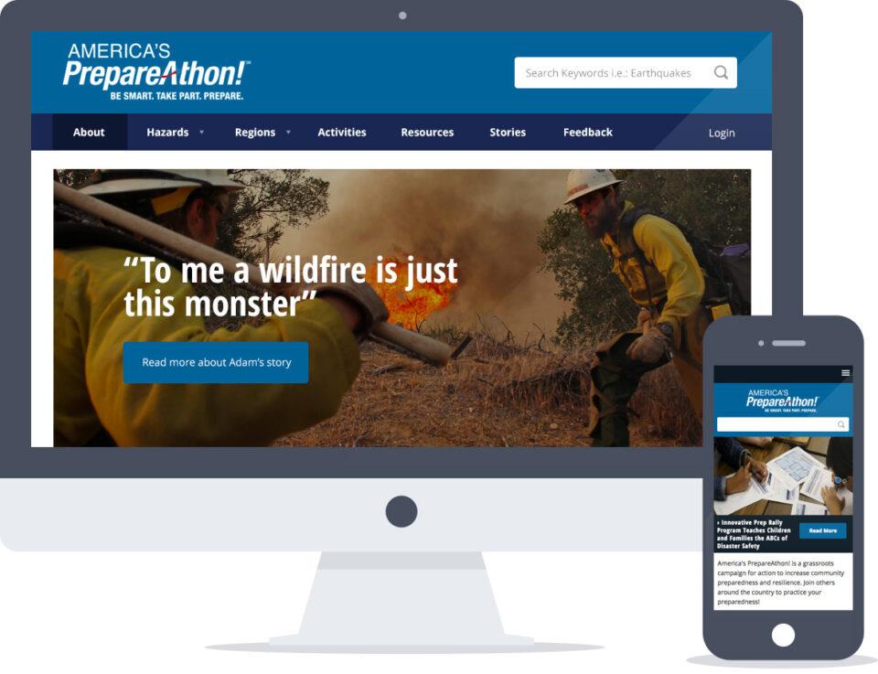 Drupal website development for FEMA