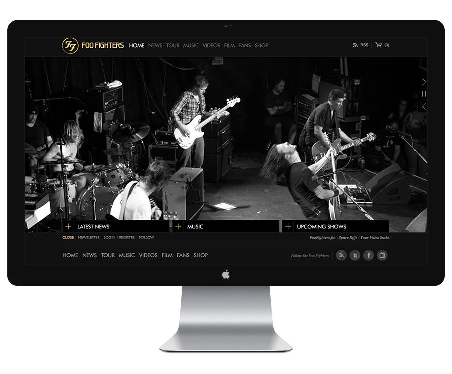 Drupal Website for Foo Fighters