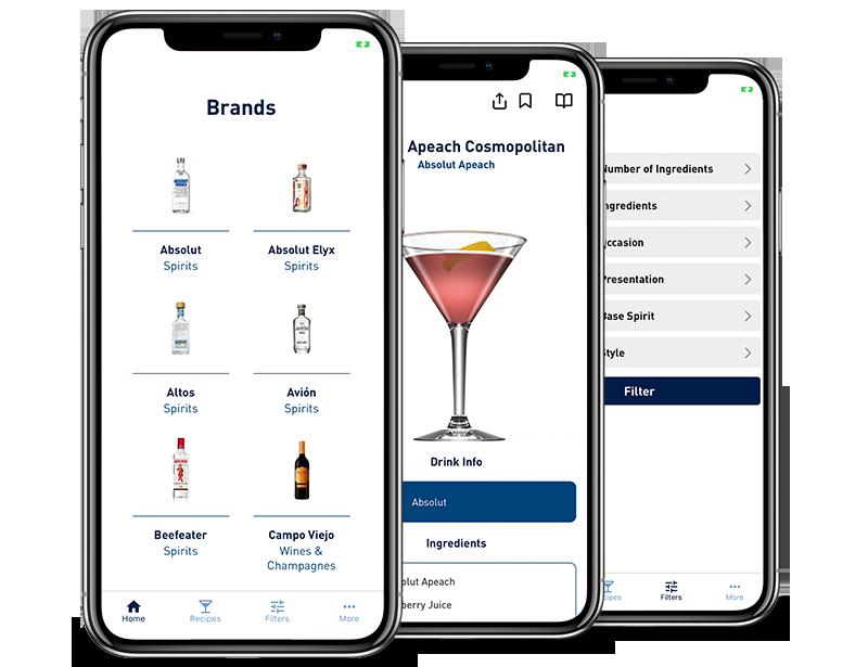iPhone App Development for Pernod Ricard