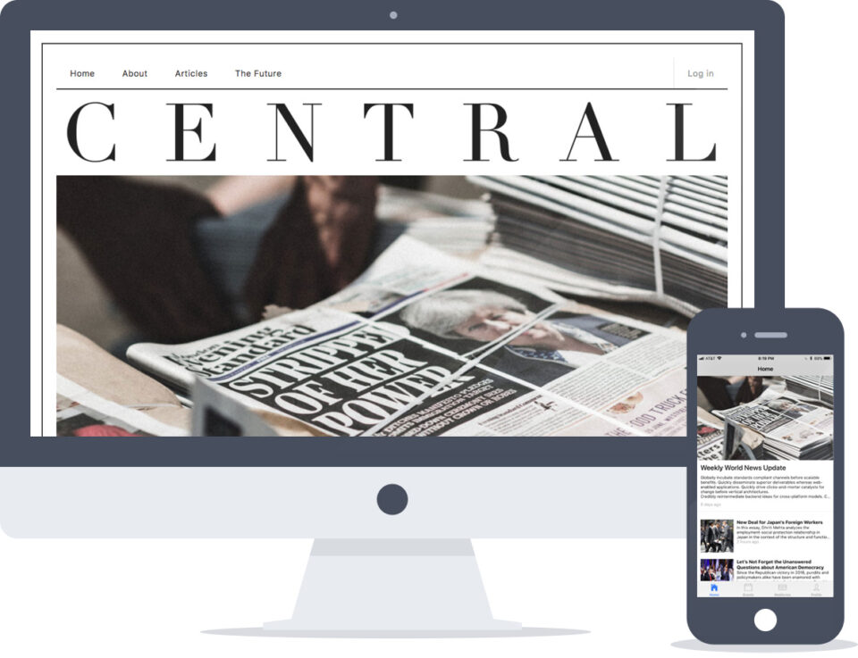 React Native + Drupal Publishing Platform