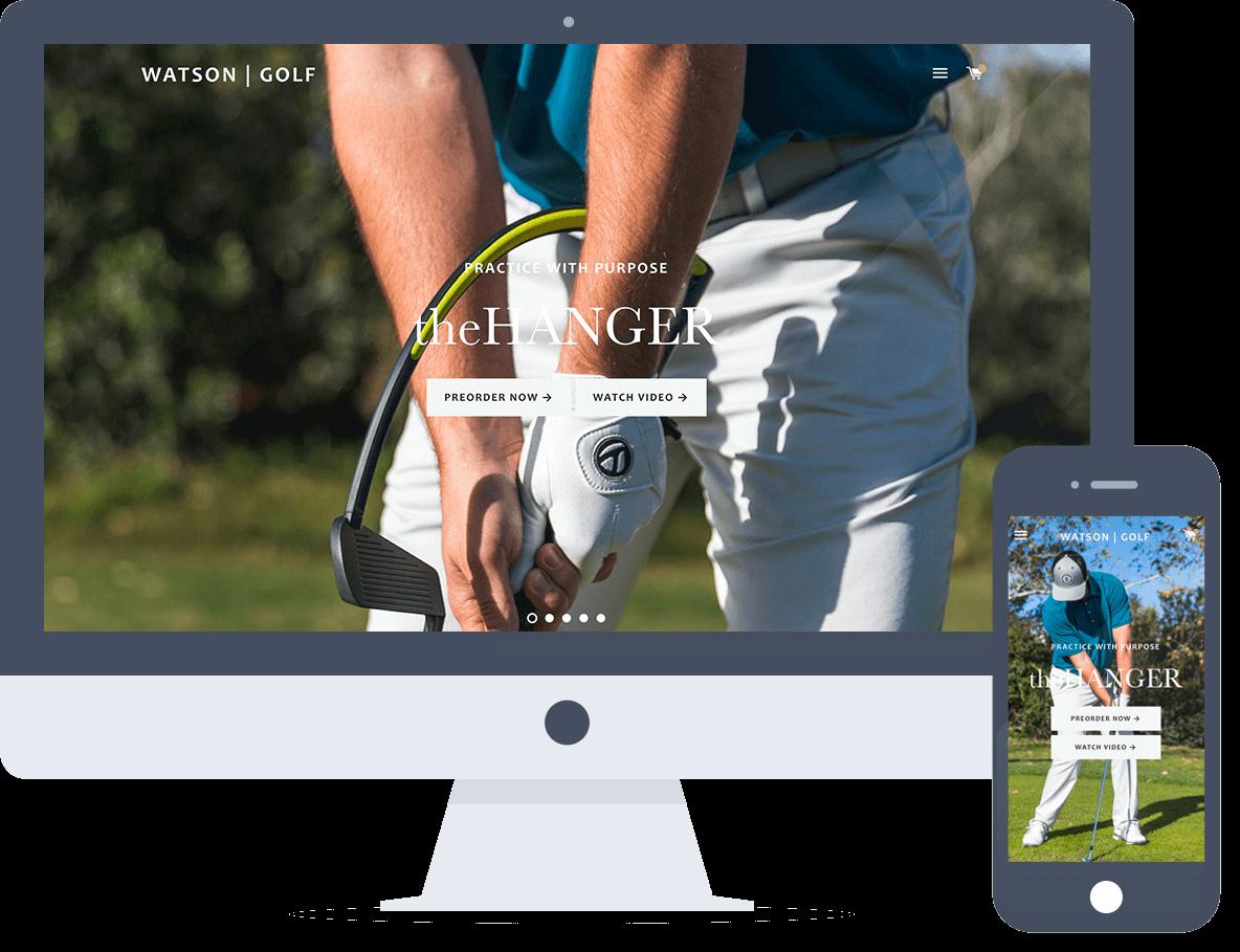 Social Media Marketing, SEO & SEM for Golf Product